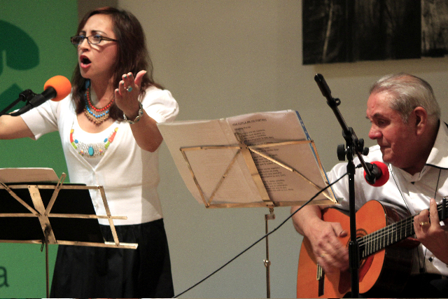Duo Betty Rhaza and Fernando Vergara