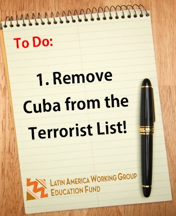 Get Cuba Off the Terrorist List