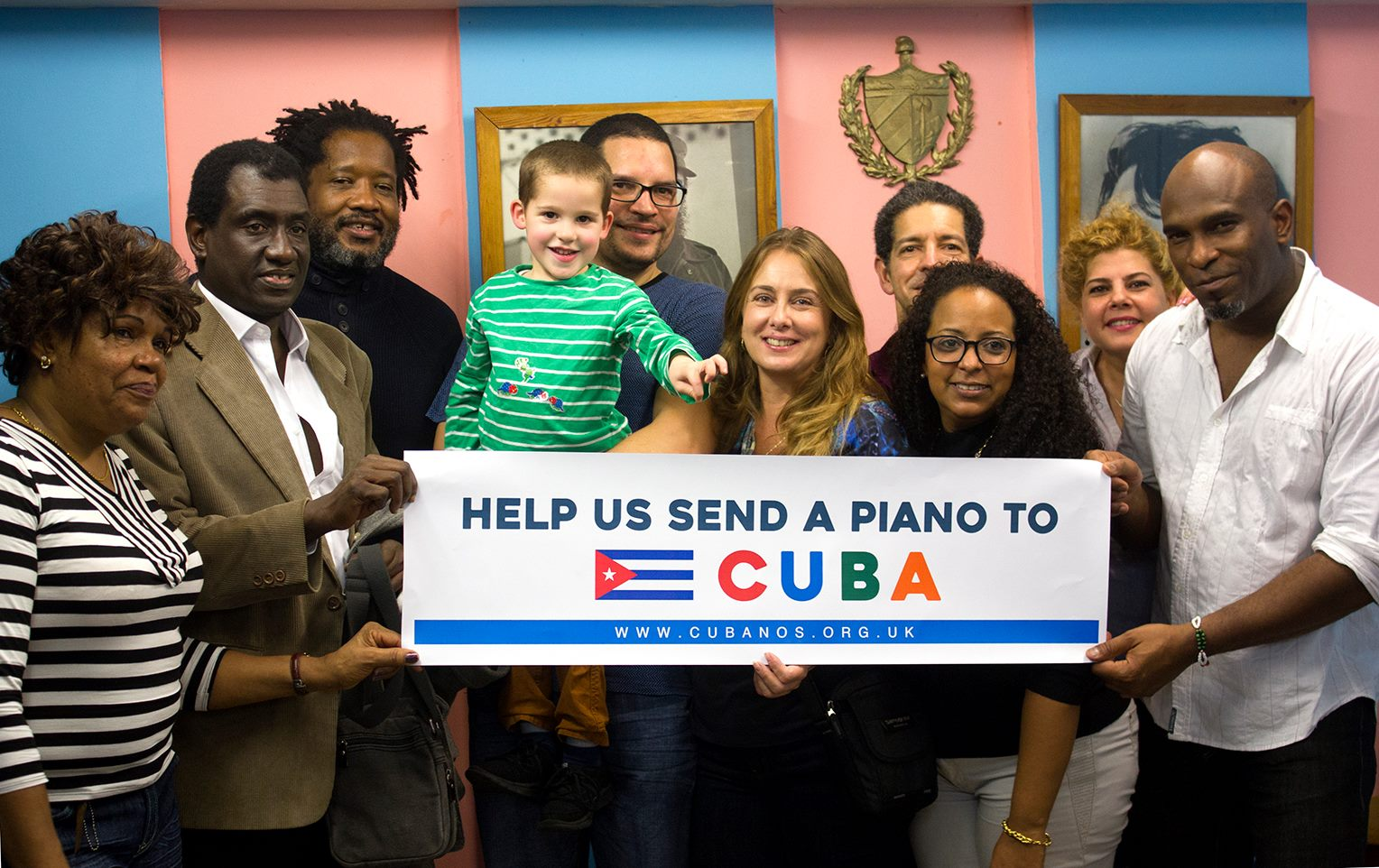 Help us send a piano to Cuba
