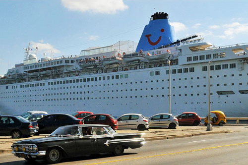Crucero Thomson Dream en La-Habana